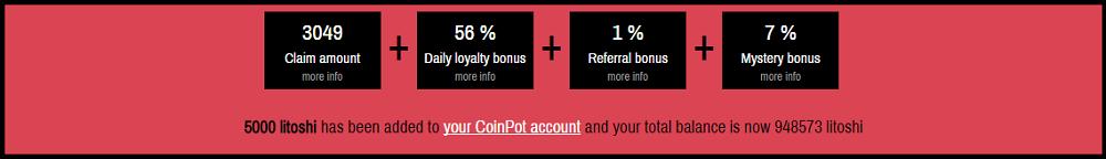 Moon Litecoin Faucet Bonus